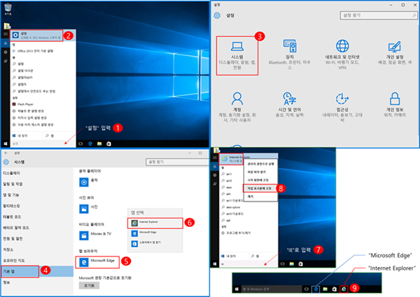 IWindows 10 nternet Explore 11 호환성